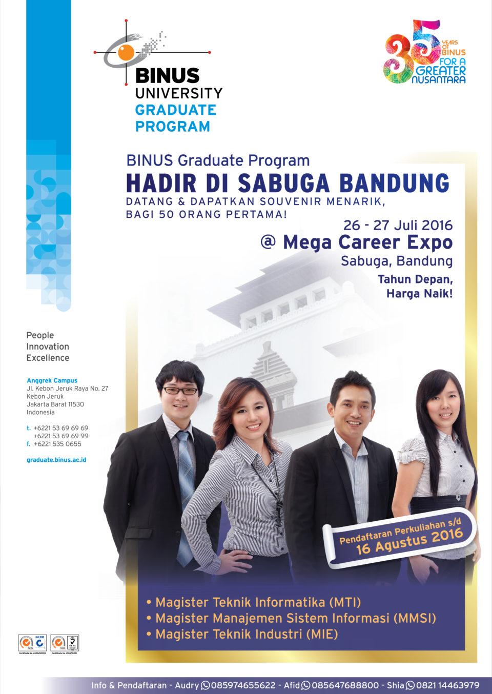 Graduate program jakarta