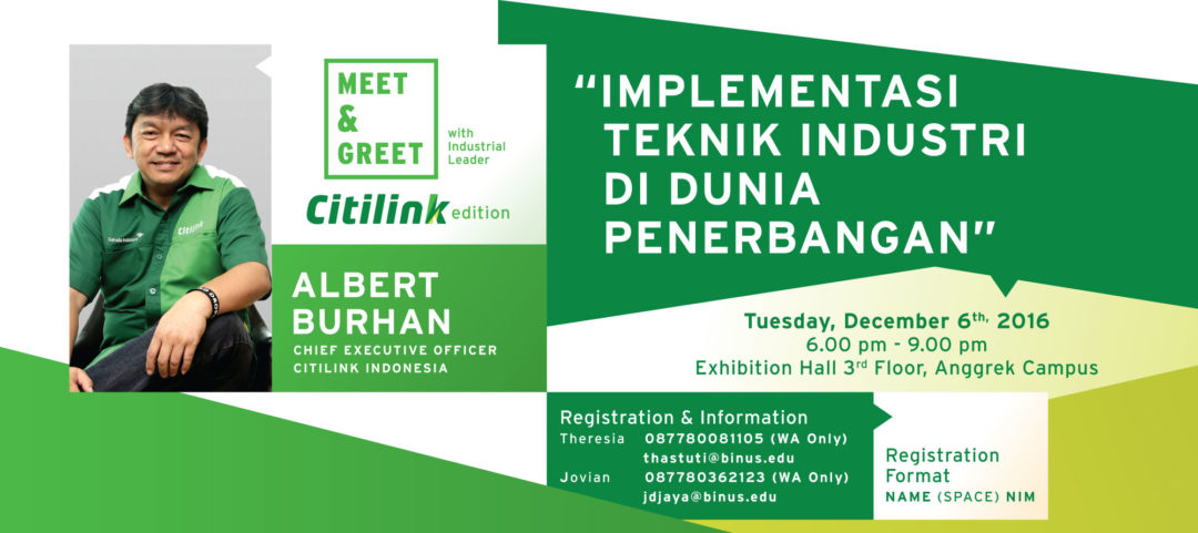 MEET & GREET with CEO CITILINK