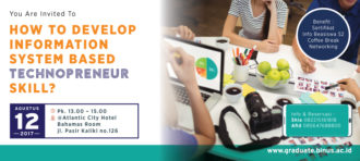 How to Develop Information System Based Technopreneur Skill
