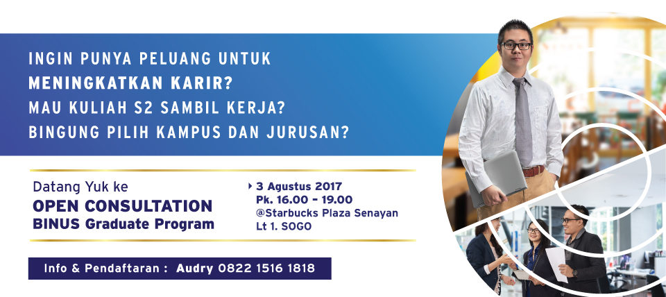 Open Consultation BINUS GRADUATE PROGRAM