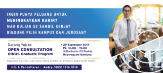 Executive Briefing dan Info Session DCS Program