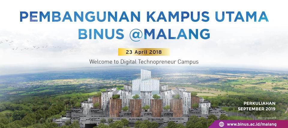 Pembangunan Kampus Utama BINUS @Malang