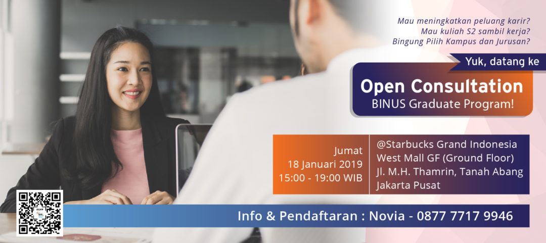 BINUS GRADUATE PROGRAM – Registration Batch 4