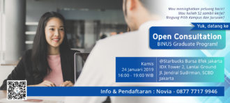 Open Consultation BGP 24 Januari 2019